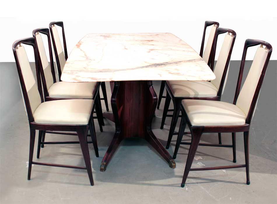 Mid Century Dining Table By Osvaldo Borsani For Atelier Borsani Varedo