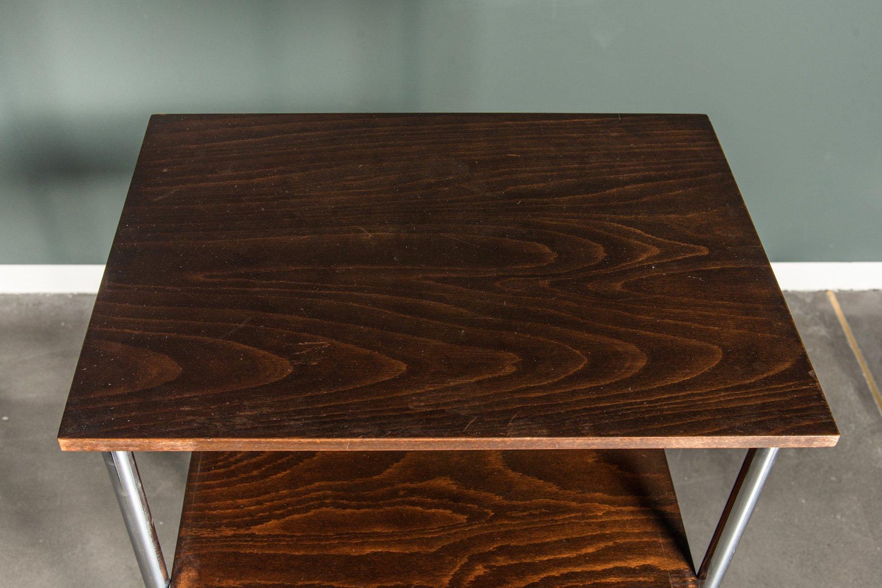 hoher vintage bauhaus stil konsolentisch bei pamono kaufen. Black Bedroom Furniture Sets. Home Design Ideas
