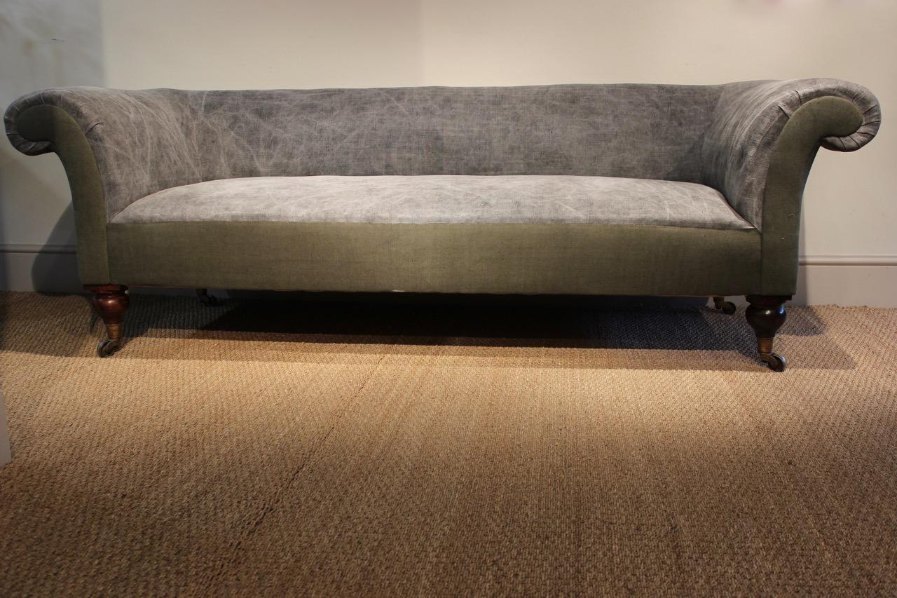 gro es englisches landhaus sofa 19 jh bei pamono kaufen. Black Bedroom Furniture Sets. Home Design Ideas