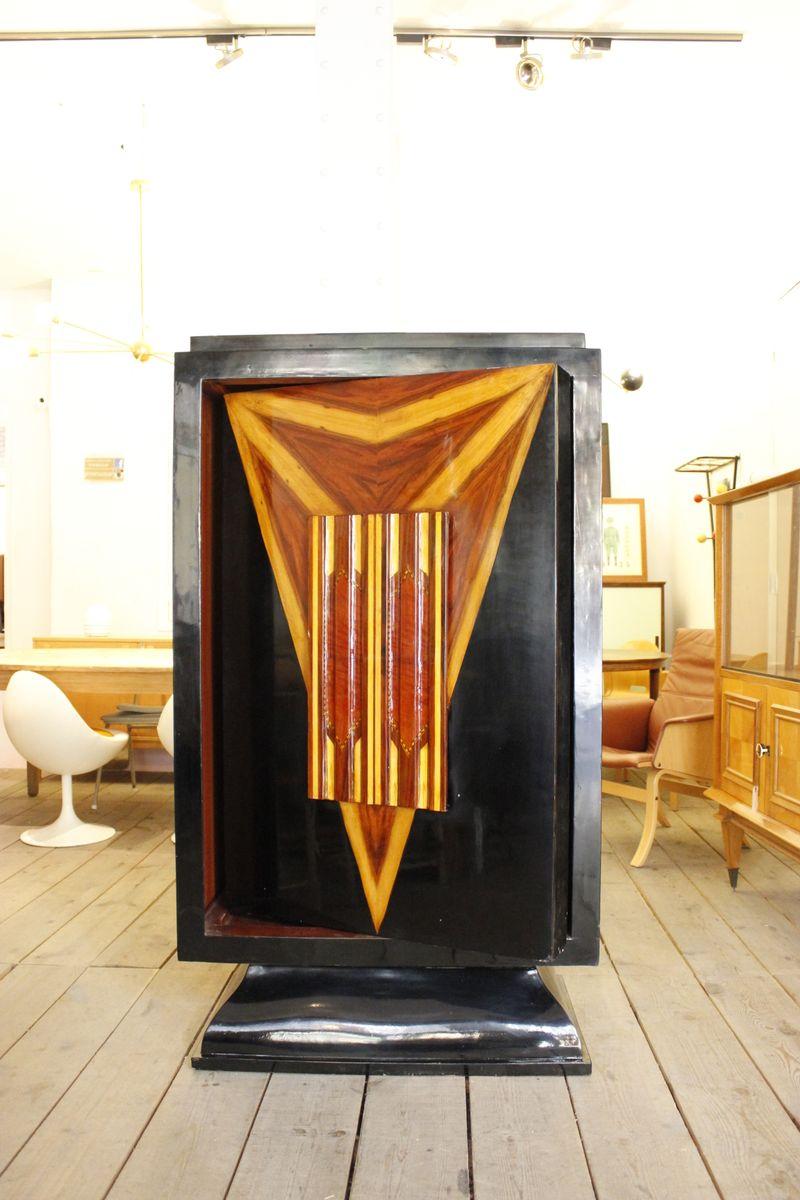 englischer vintage art deco barschrank bei pamono kaufen. Black Bedroom Furniture Sets. Home Design Ideas