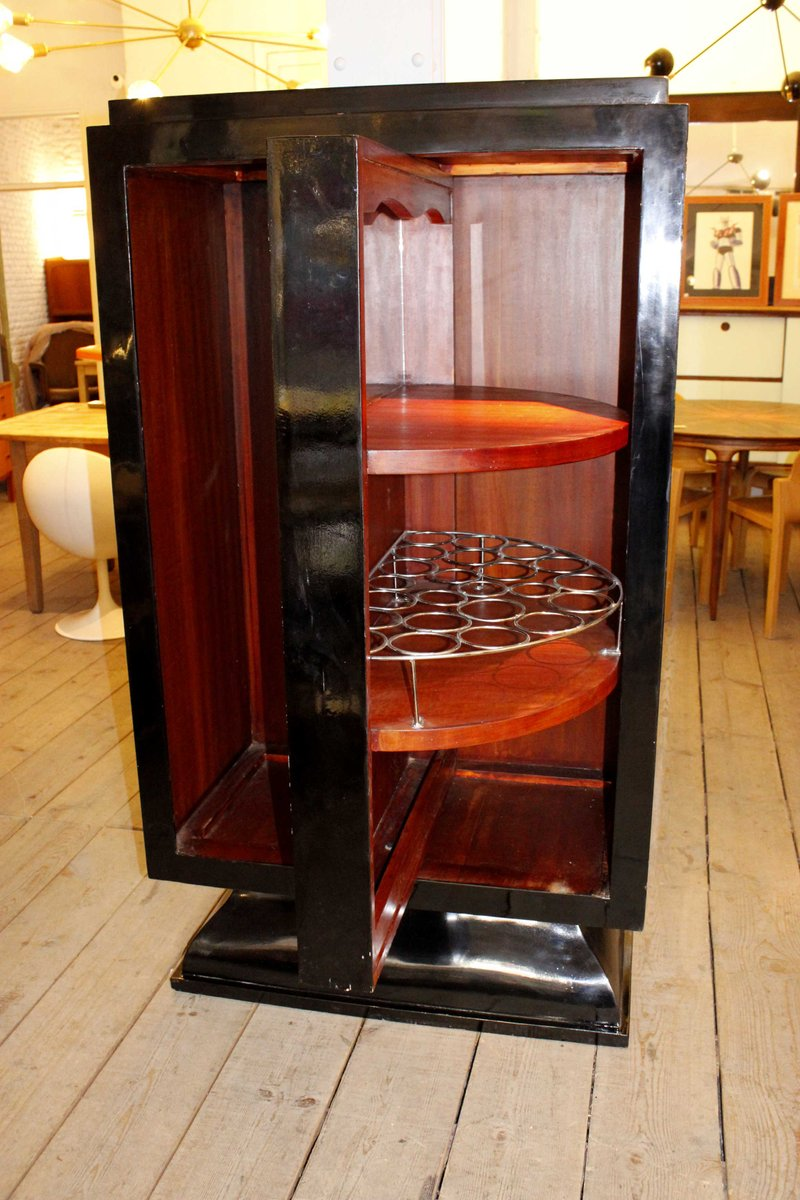 vintage english art deco bar for sale at pamono. Black Bedroom Furniture Sets. Home Design Ideas