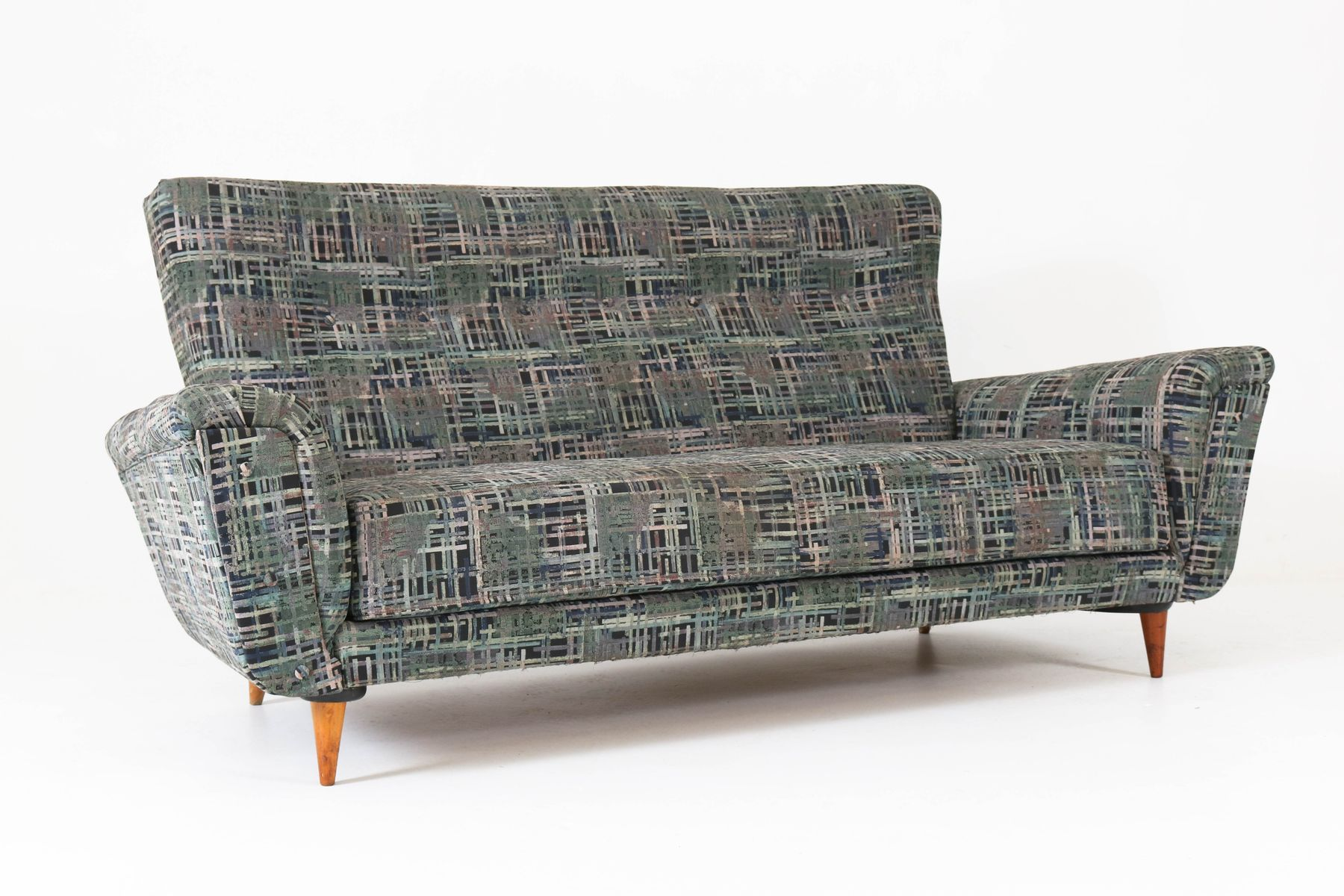 Mid Century Modern Sofa By Theo Ruth For Artifort, 1950s