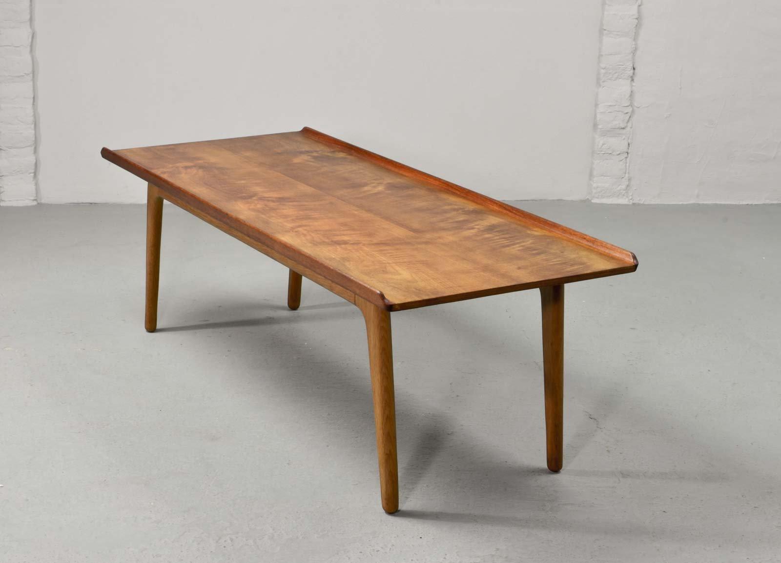 teak coffee table. Solid Teak Coffee Table By Aksel Bender Madsen For Bovenkamp, 1960s