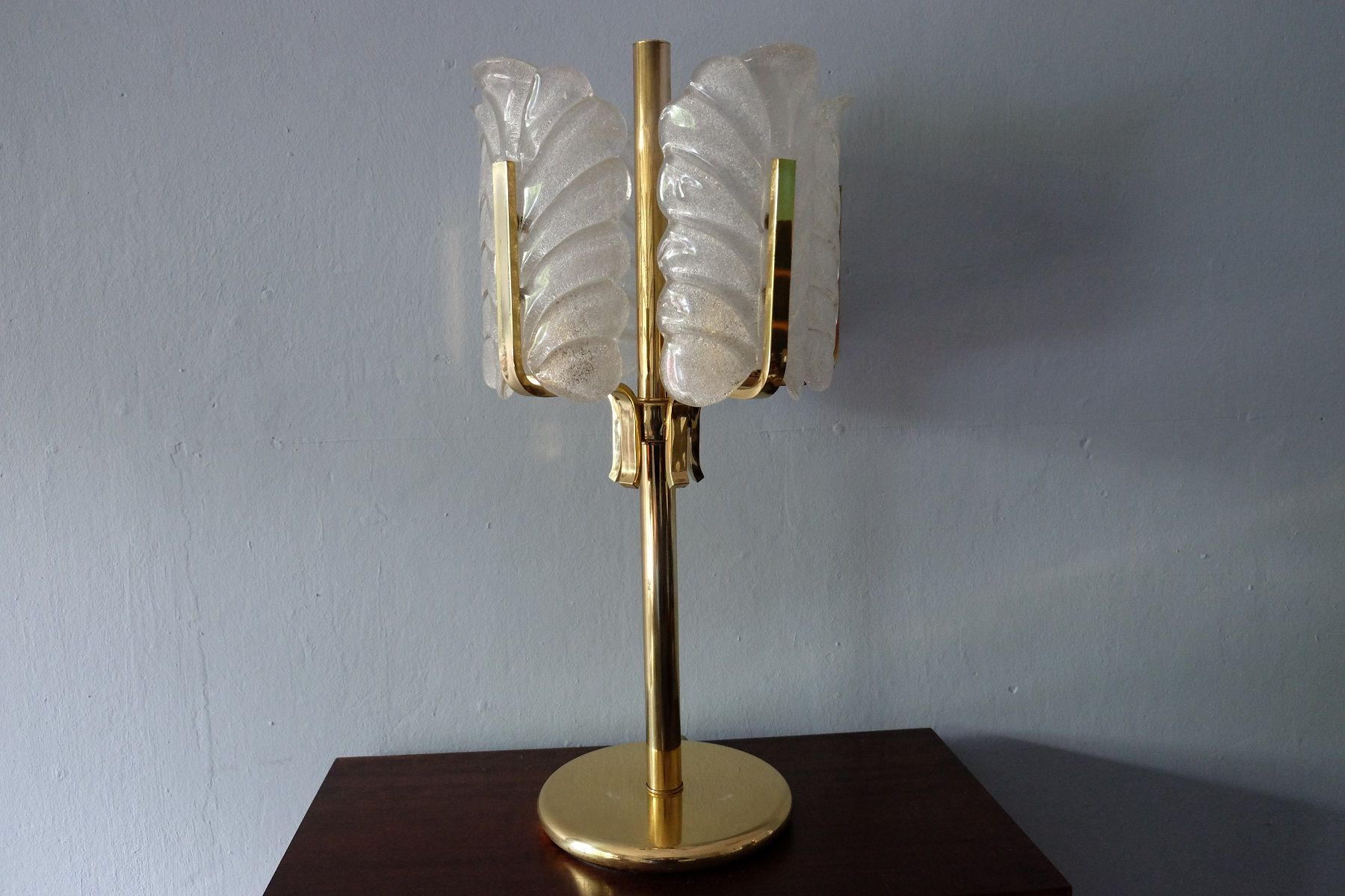 Swedish acanthus leaf table lamp by carl fagerlund for orrefors swedish acanthus leaf table lamp by carl fagerlund for orrefors 1950s aloadofball