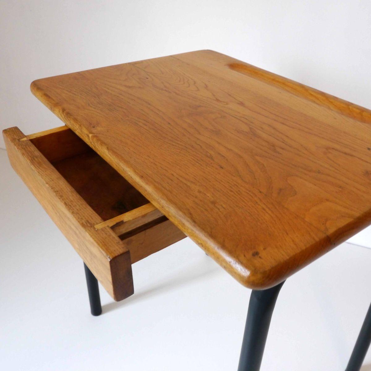 vintage schulpult und stuhl von delagrave bei pamono kaufen. Black Bedroom Furniture Sets. Home Design Ideas