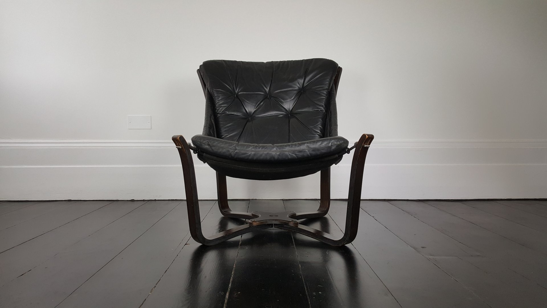leather sling west chair elm o products