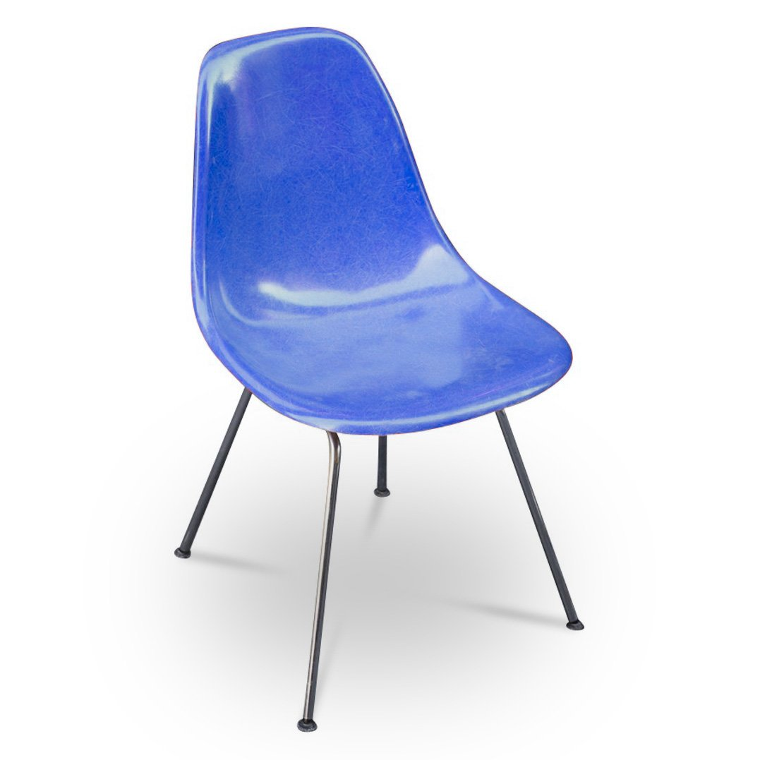 modell dsx stuhl von charles ray eames f r herman miller 1970er bei pamono kaufen. Black Bedroom Furniture Sets. Home Design Ideas