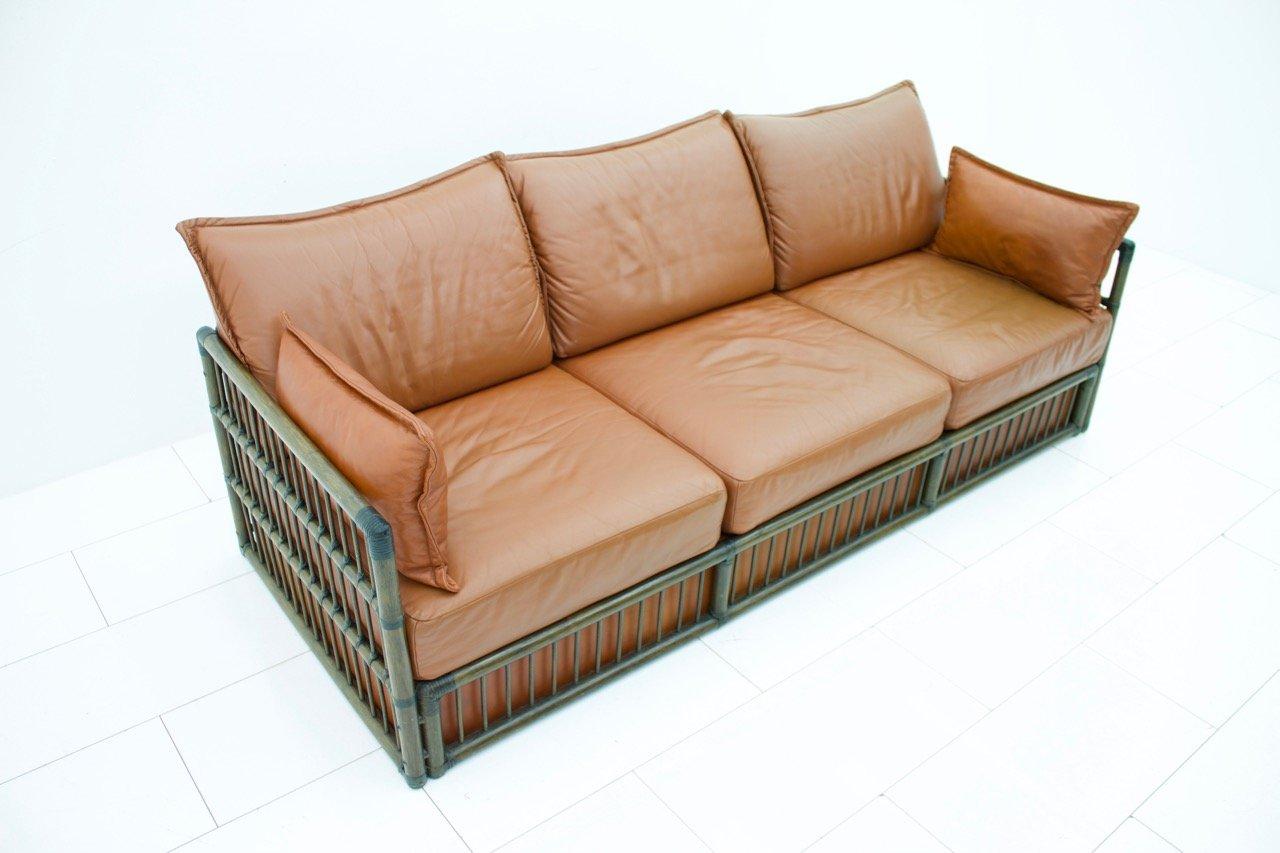 deutsches 3 sitzer sofa von rolf benz 1978 bei pamono kaufen. Black Bedroom Furniture Sets. Home Design Ideas