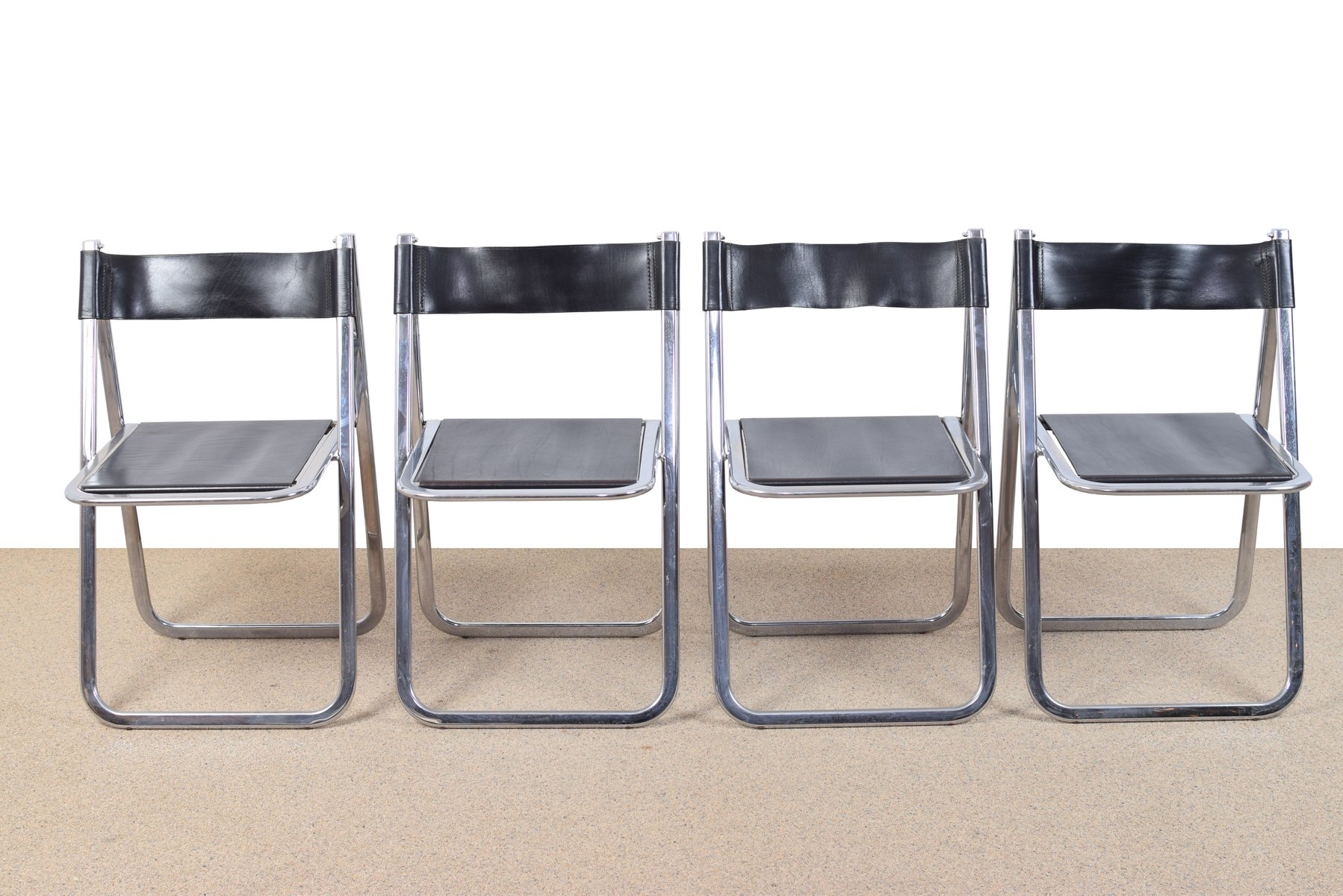 Tamara Folding Chairs from Arben 1970s Set of 4 for sale at Pamono