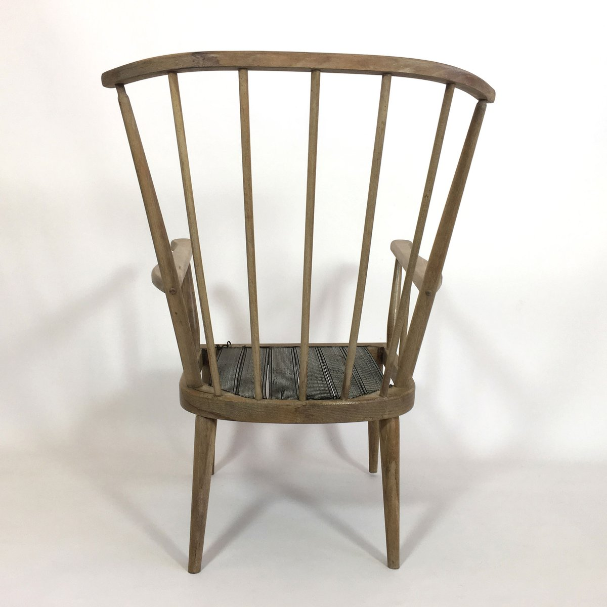 Mid Century French Wooden Armchair 1960s For Sale At Pamono