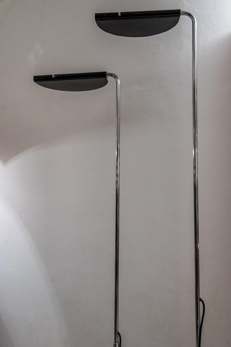 mezzaluna stehlampen von bruno gecchelin f r skipper 1976 2er set bei pamono kaufen. Black Bedroom Furniture Sets. Home Design Ideas
