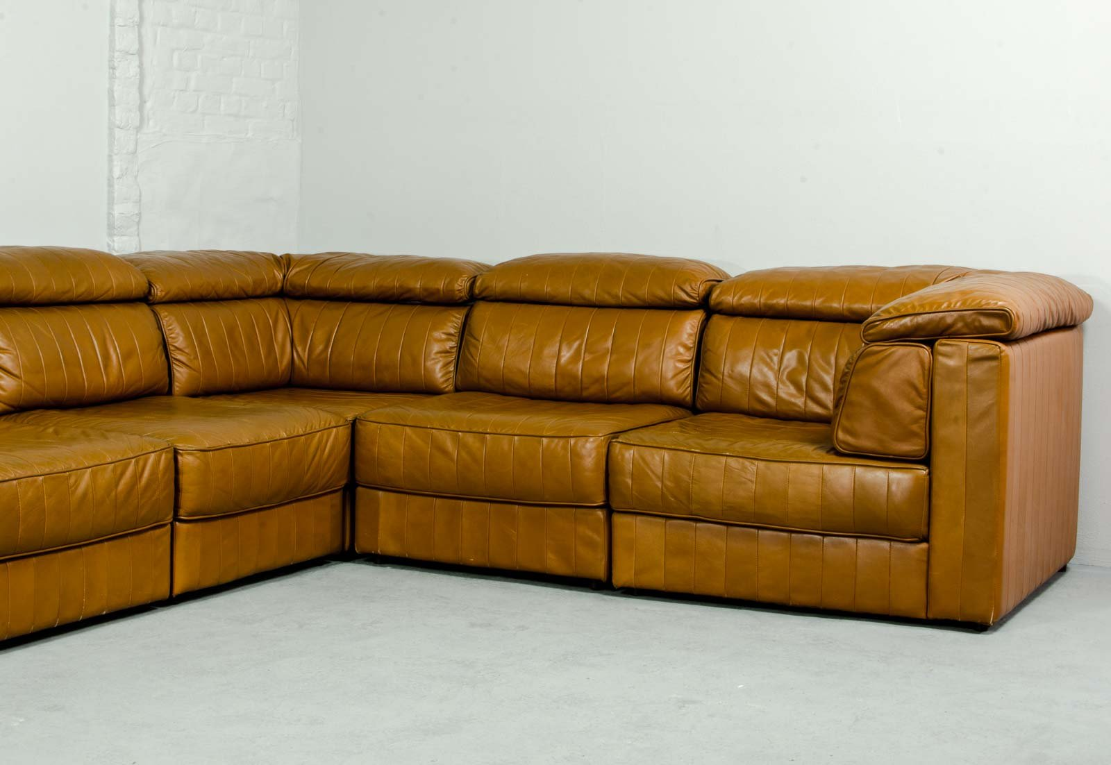 Mid Century Modular Patchwork Sofa By Laauser 1970s For