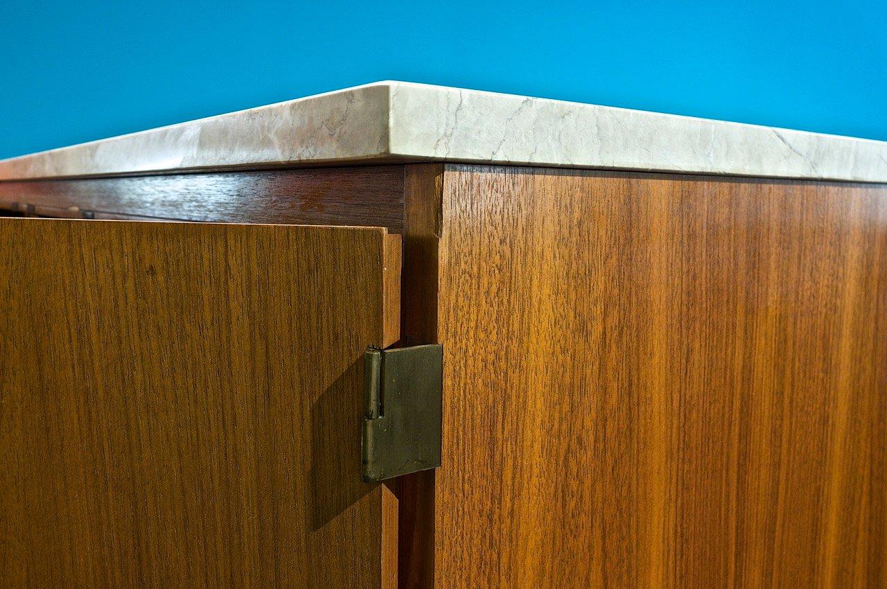 vintage credenza by paul mccobb for wk m bel for sale at pamono. Black Bedroom Furniture Sets. Home Design Ideas