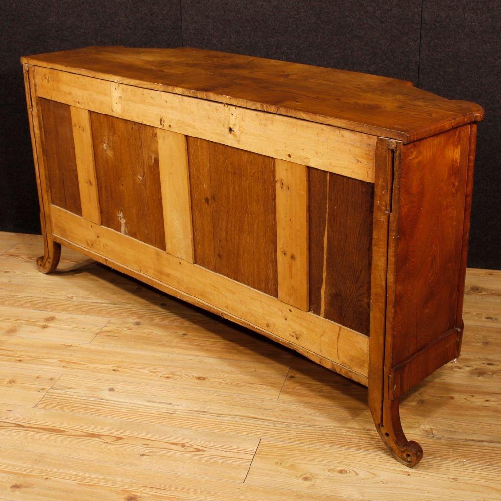 franz sisches mid century art deco sideboard aus holz bei pamono kaufen. Black Bedroom Furniture Sets. Home Design Ideas