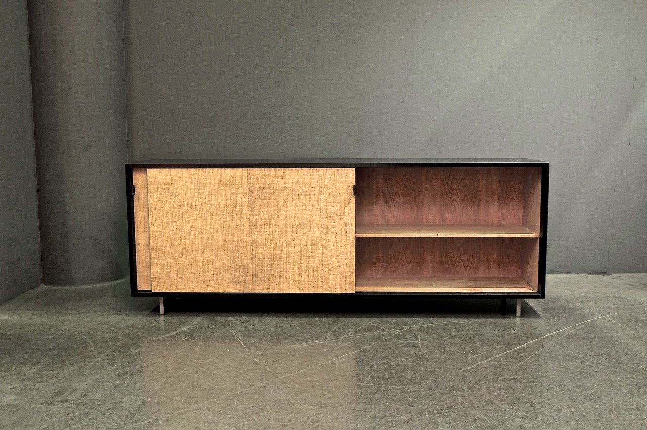 vintage b ro sideboard von florence knoll bassett f r. Black Bedroom Furniture Sets. Home Design Ideas