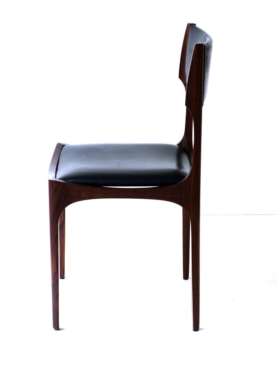 st hle von giuseppe gibelli f r sormani 1960er 6er set. Black Bedroom Furniture Sets. Home Design Ideas