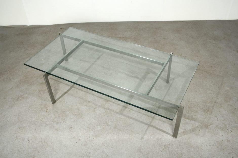 couchtisch mit glasplatte 1960er bei pamono kaufen. Black Bedroom Furniture Sets. Home Design Ideas