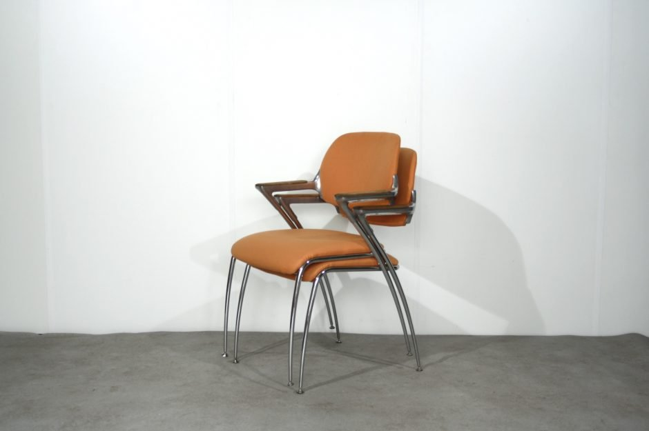 vintage golf dining chair by francesco zaccone for brunner for sale at pamono