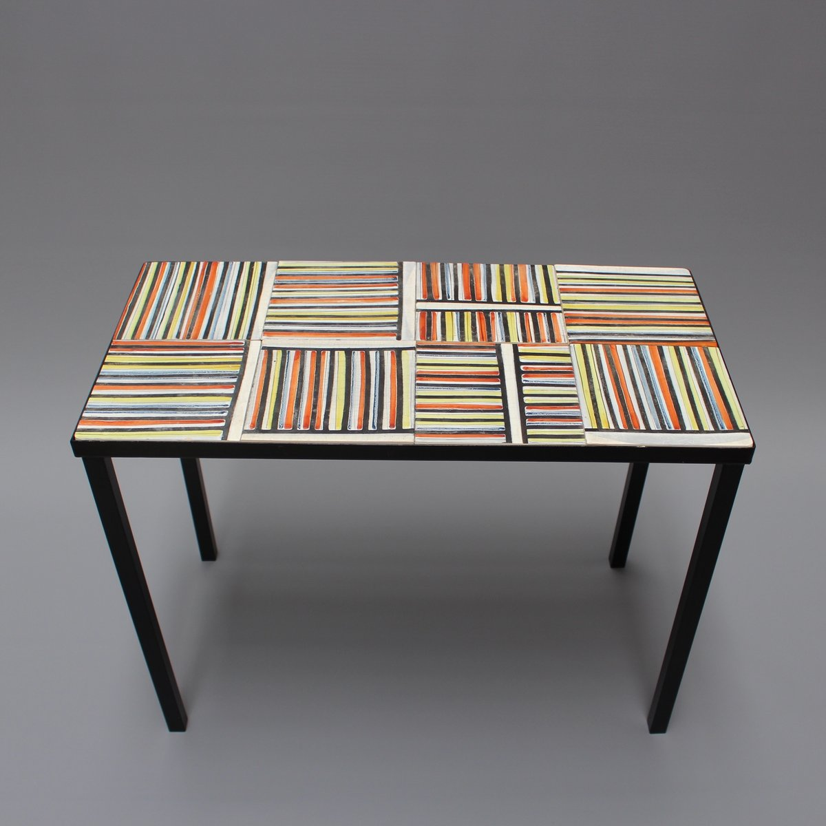 Coffee table with pyjama ceramic tiles by roger capron 1950s for coffee table with pyjama ceramic tiles by roger capron 1950s dailygadgetfo Gallery