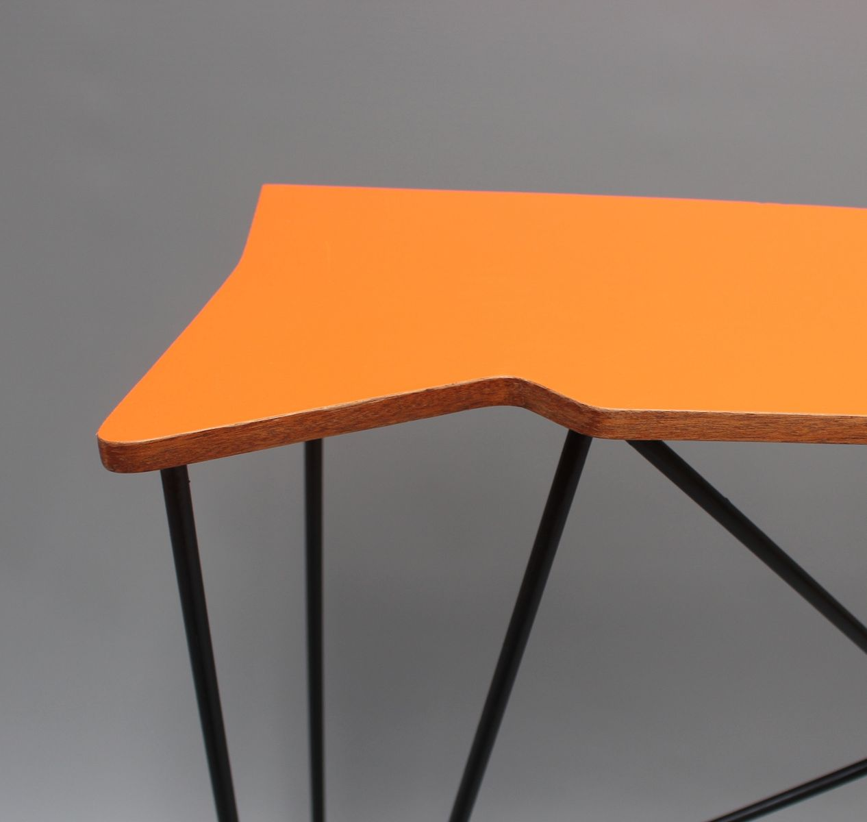 Vintage orange console table 1980s for sale at pamono for 10 spring street console table