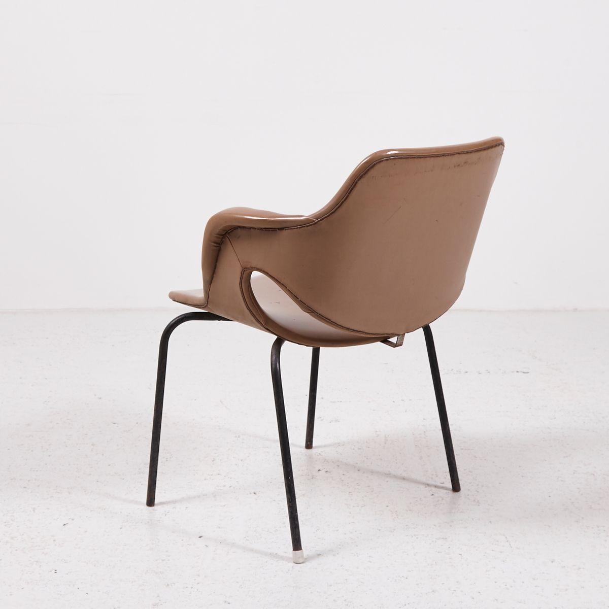 Vintage sessel aus kunstleder bei pamono kaufen for Sessel kunstleder