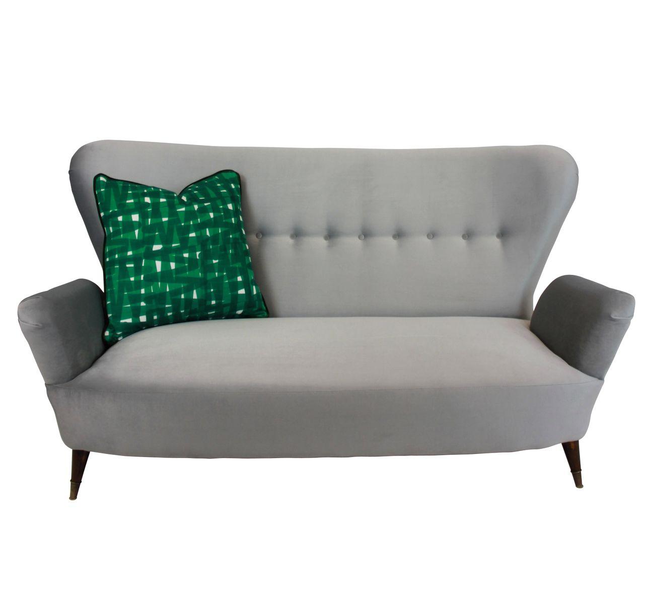 mid century italian sofa bei pamono kaufen. Black Bedroom Furniture Sets. Home Design Ideas