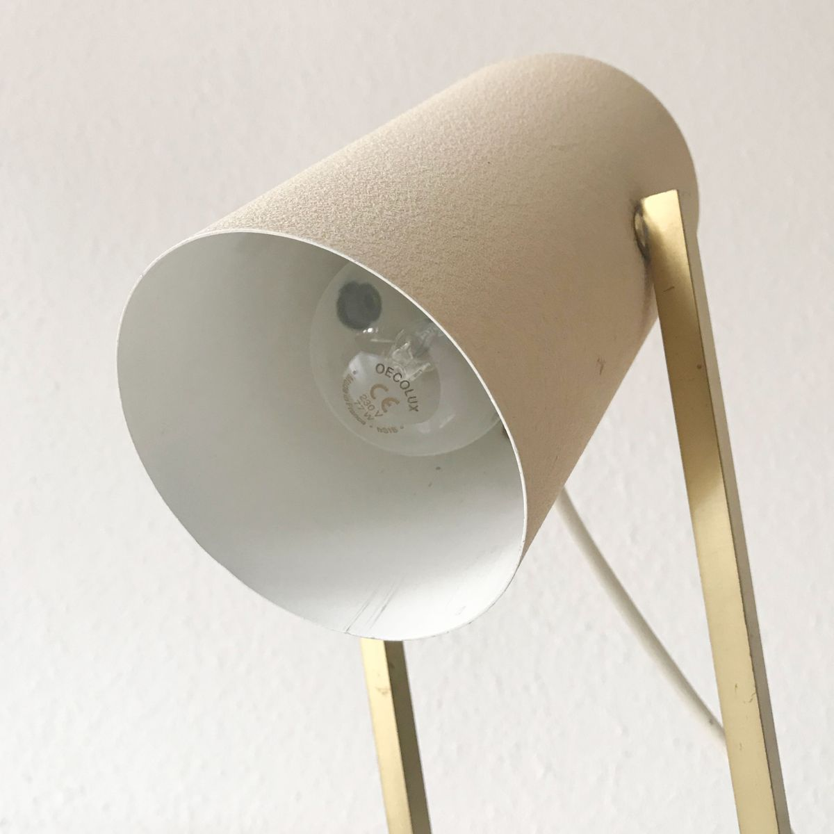 mid century schreibtischlampe von kaiser leuchten 1950er. Black Bedroom Furniture Sets. Home Design Ideas