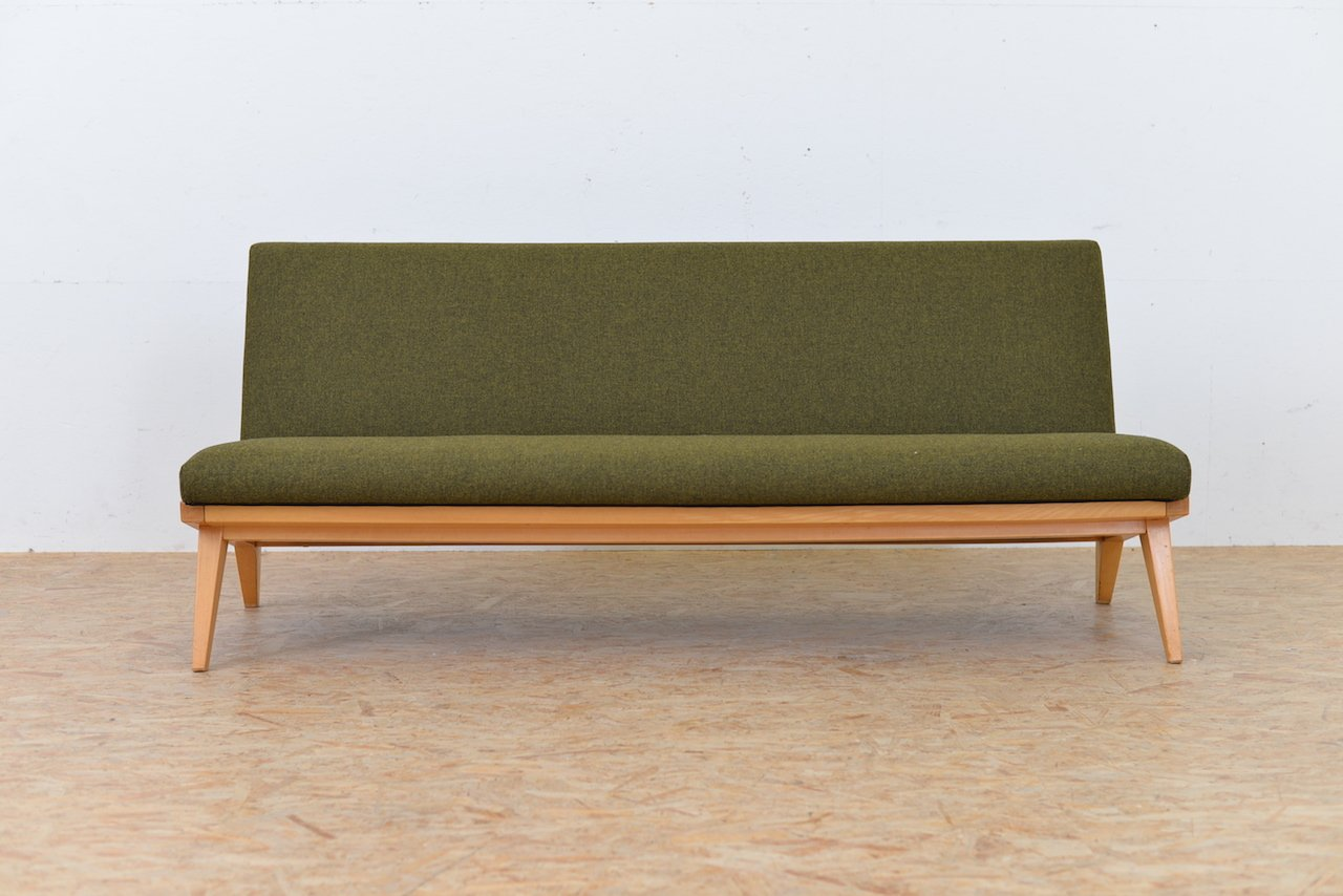 vintage sofa by jens risom for knoll international for. Black Bedroom Furniture Sets. Home Design Ideas