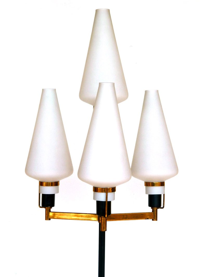 italienische mid century stehlampe von stilnovo 1950er bei pamono kaufen. Black Bedroom Furniture Sets. Home Design Ideas