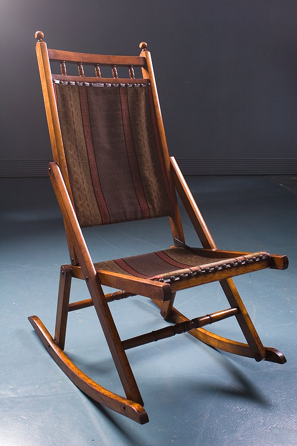 Antique Rocking Chair, 1900s - Antique Rocking Chair, 1900s For Sale At Pamono