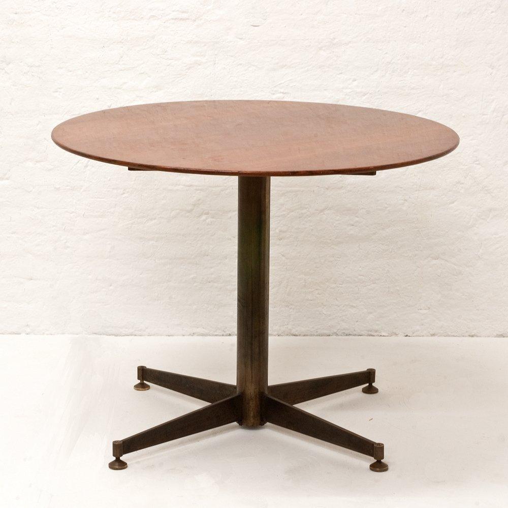 kleiner italienischer esstisch 1950er bei pamono kaufen. Black Bedroom Furniture Sets. Home Design Ideas