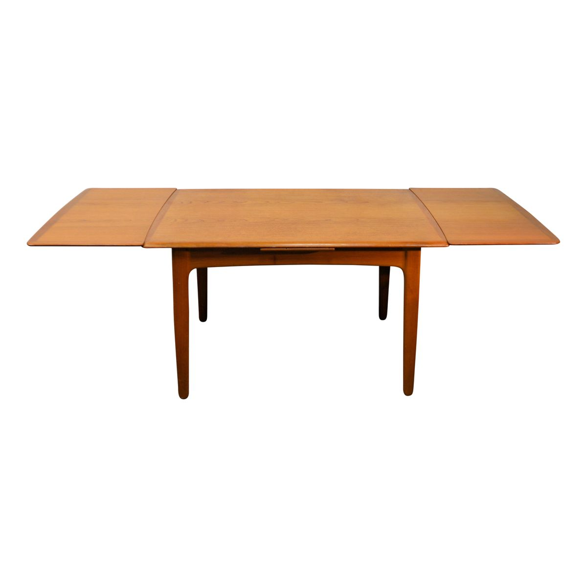 Extendable Teak Dining Table by Svend Aage Madsen for K  : extendable teak dining table by svend aage madsen for k knudsen son 1960s 9 from www.pamono.com size 1200 x 1200 jpeg 27kB