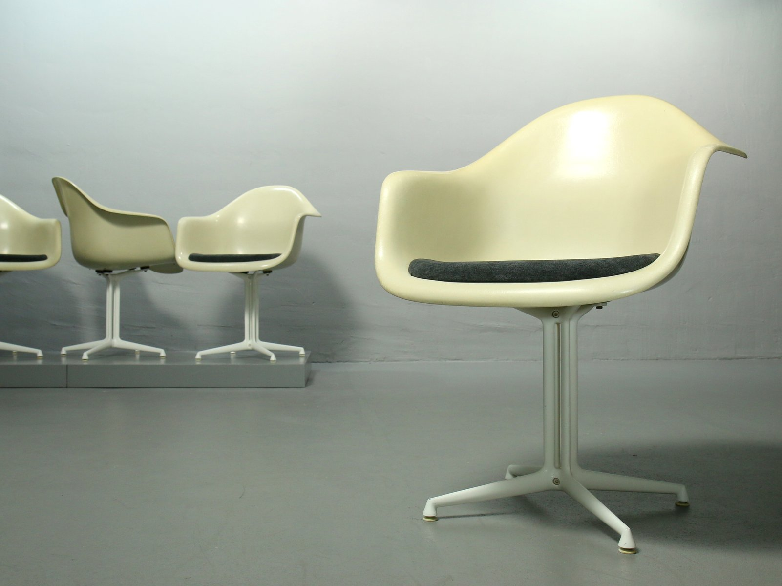 Fiberglass Armchair By Charles Amp Ray Eames For Vitra