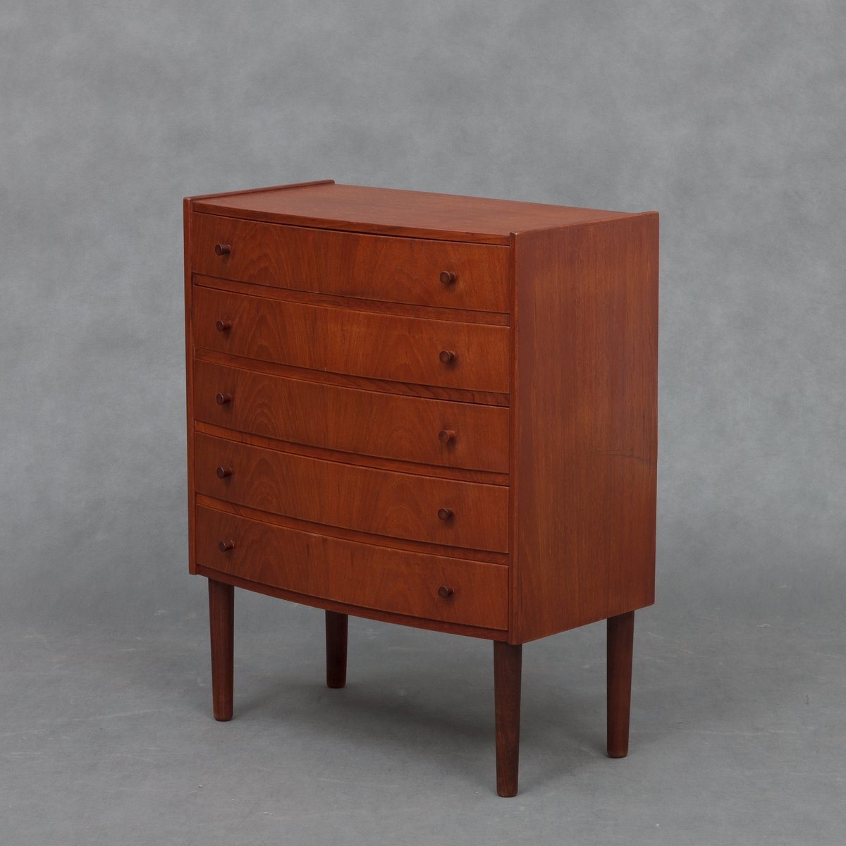 d nische mid century teak kommode 1960er bei pamono kaufen. Black Bedroom Furniture Sets. Home Design Ideas