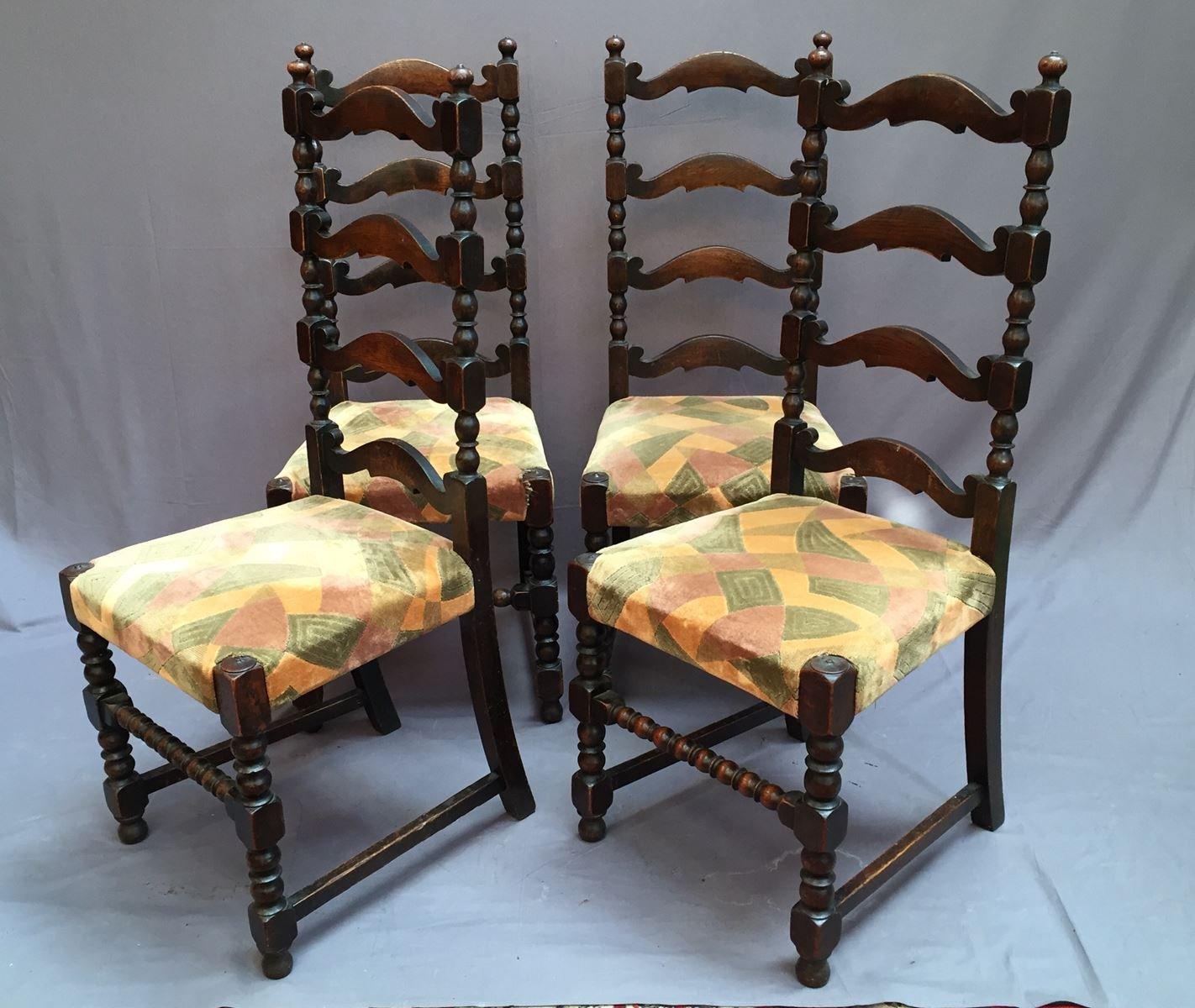 antike st hle 6er set bei pamono kaufen. Black Bedroom Furniture Sets. Home Design Ideas