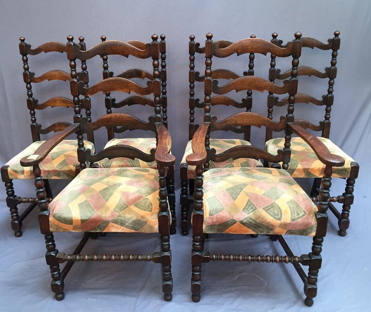 Antique Chairs, Set of 6 - Antique Chairs, Set Of 6 For Sale At Pamono