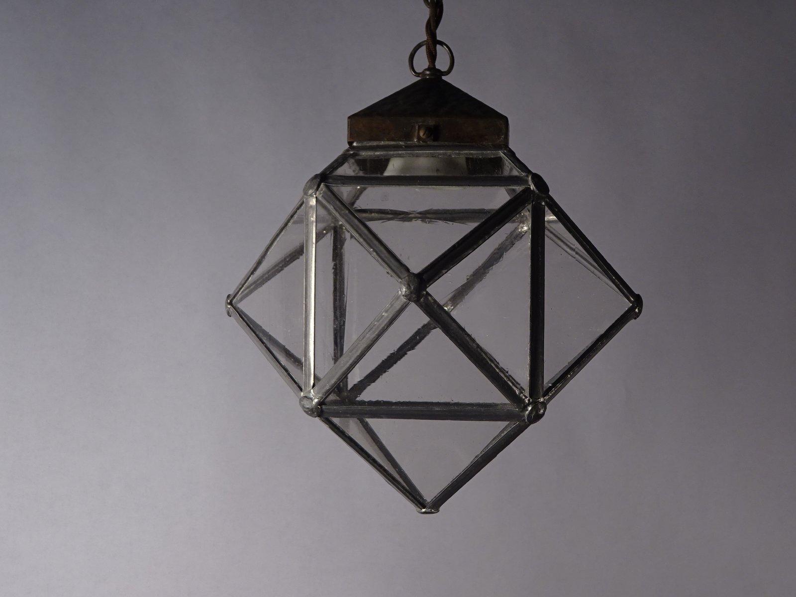 Antike jugendstil deckenlampe aus messing bei pamono kaufen for Deckenlampe messing