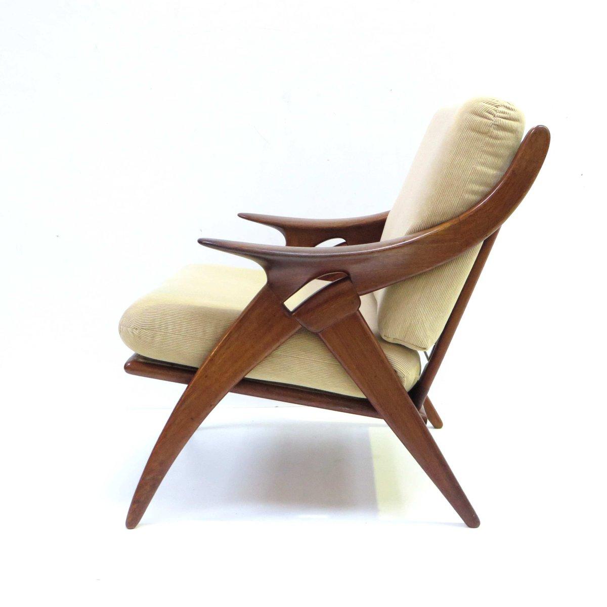 knot sessel von de ster gelderland 1950er 2er set bei. Black Bedroom Furniture Sets. Home Design Ideas
