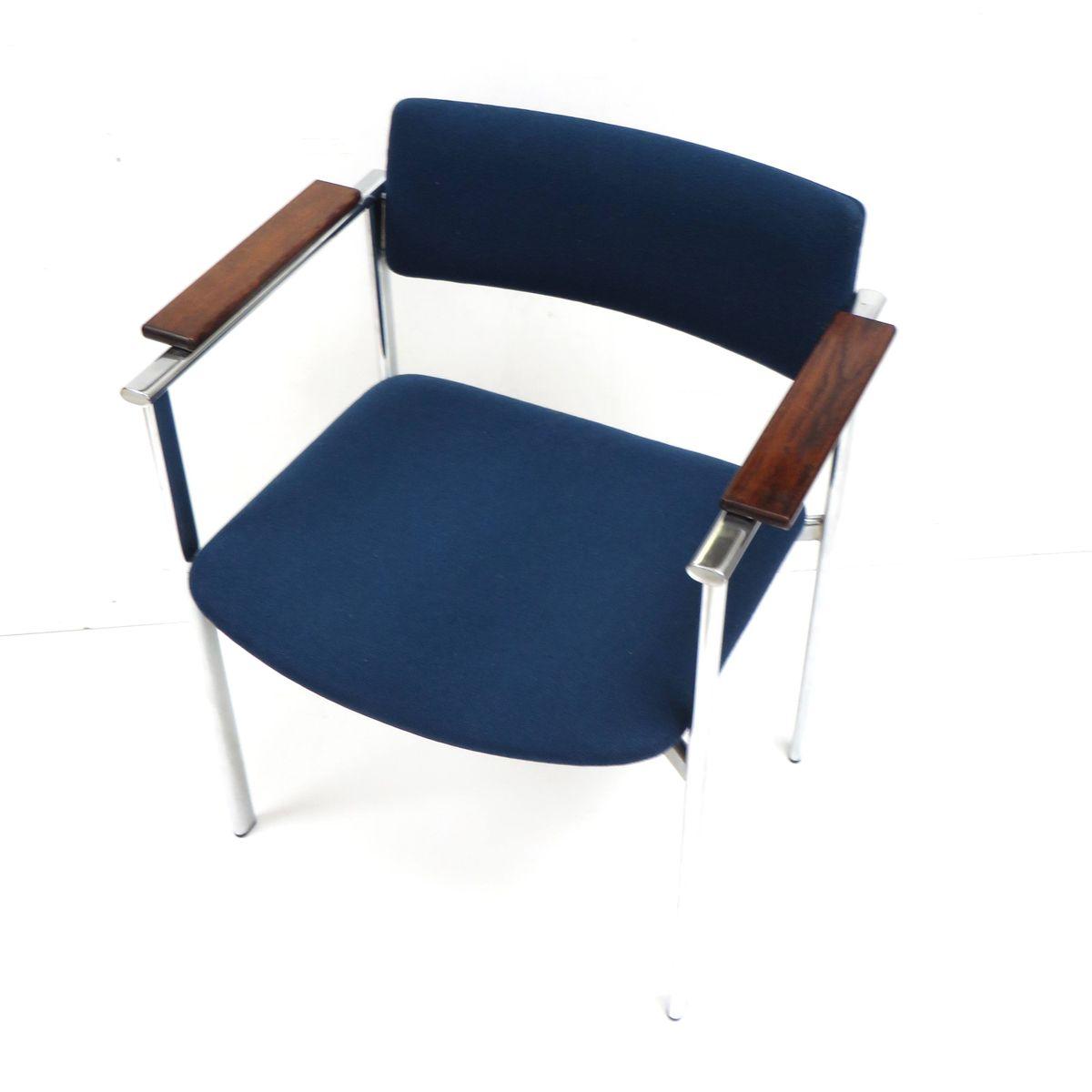 blaue vintage sessel 1960er 7er set bei pamono kaufen. Black Bedroom Furniture Sets. Home Design Ideas