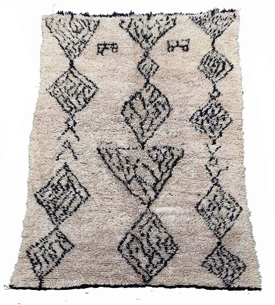 moroccan berber beni ouarain carpet bei pamono kaufen. Black Bedroom Furniture Sets. Home Design Ideas