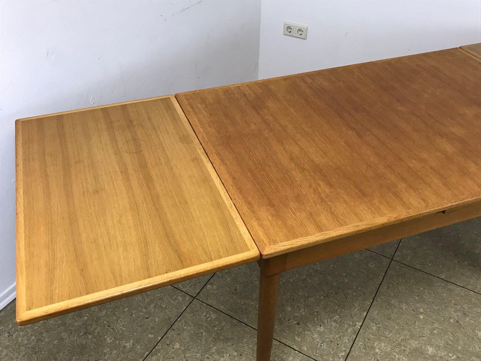 D nischer tisch aus eiche 1960er bei pamono kaufen for Tisch eiche modern