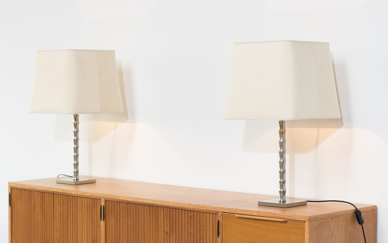 Vintage modernist faux bamboo table lamps set of 2 for sale at pamono price per set aloadofball Images