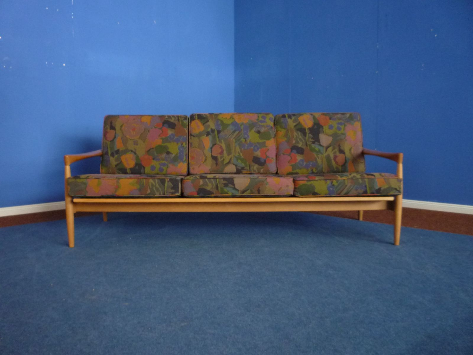 polnisches mid century sofa 1960er bei pamono kaufen. Black Bedroom Furniture Sets. Home Design Ideas