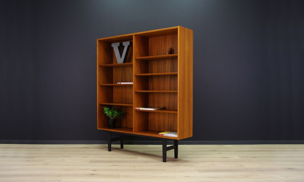 vintage teak regal von poul hundevad f r hundevad co bei. Black Bedroom Furniture Sets. Home Design Ideas