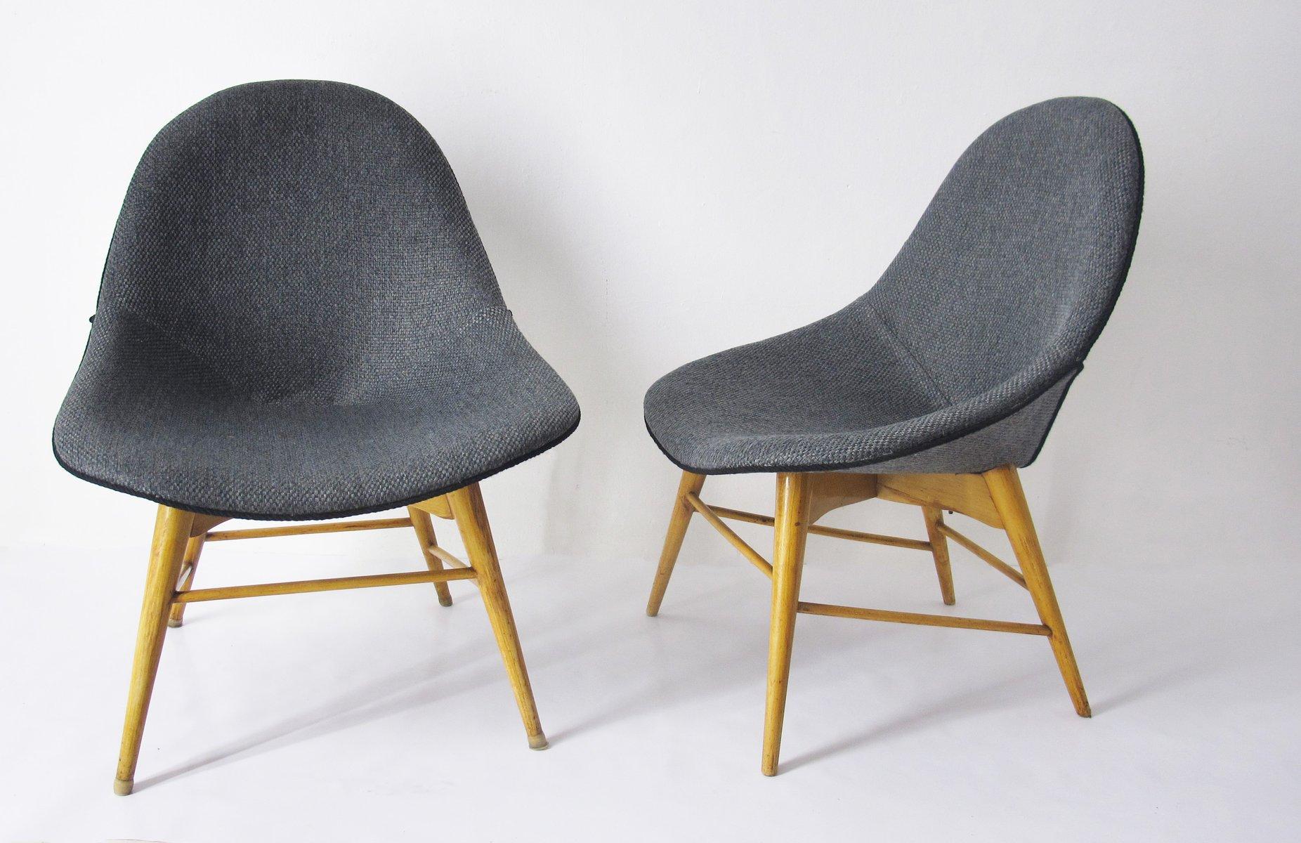 Vintage Stühle skandinavische vintage stühle 2er set bei pamono kaufen