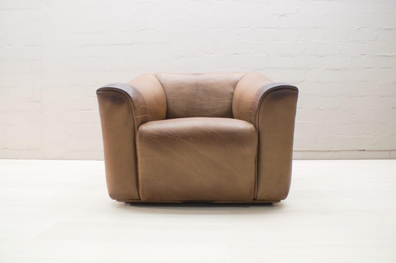 ds 47 leder sessel von de sede 1960er bei pamono kaufen. Black Bedroom Furniture Sets. Home Design Ideas