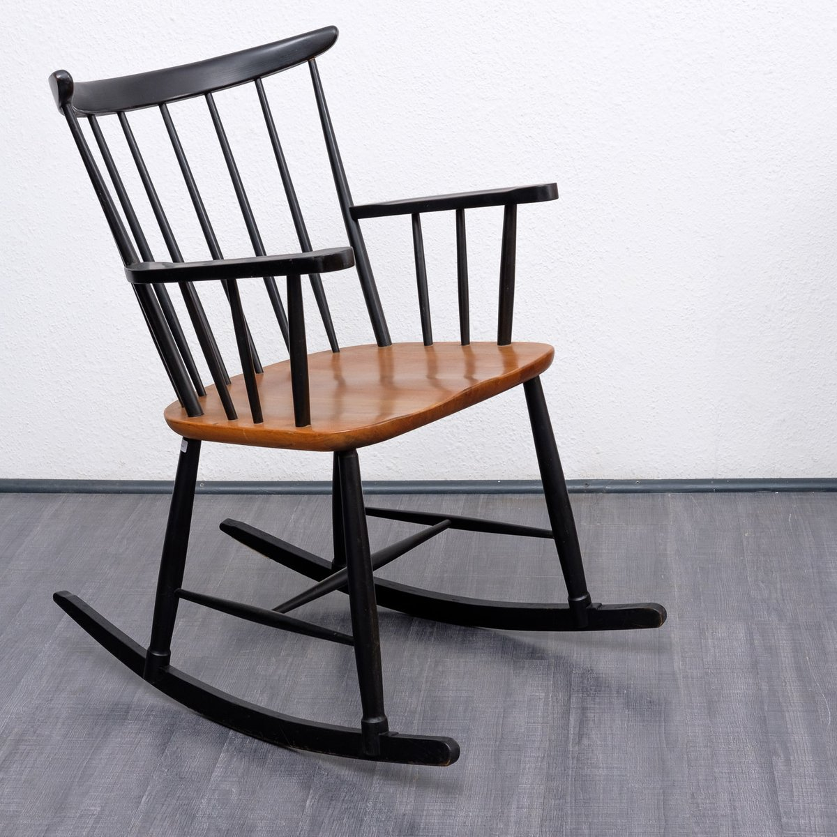 rocking chair 1950s for sale at pamono. Black Bedroom Furniture Sets. Home Design Ideas