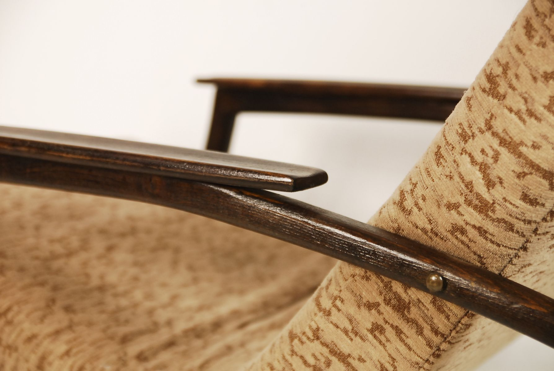 moderner tschechischer schaukelstuhl 1940er bei pamono kaufen. Black Bedroom Furniture Sets. Home Design Ideas