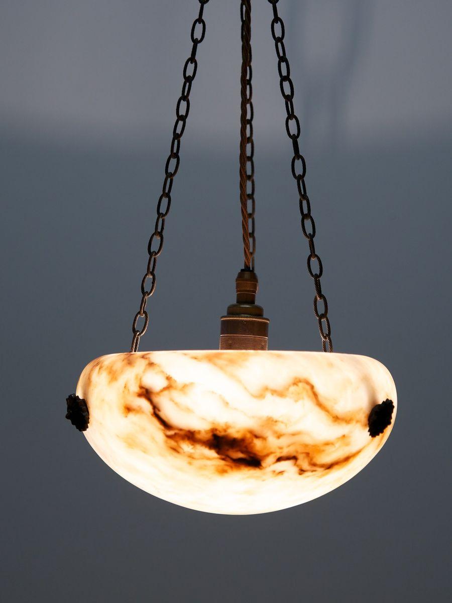 antike kleine deckenlampe bei pamono kaufen. Black Bedroom Furniture Sets. Home Design Ideas