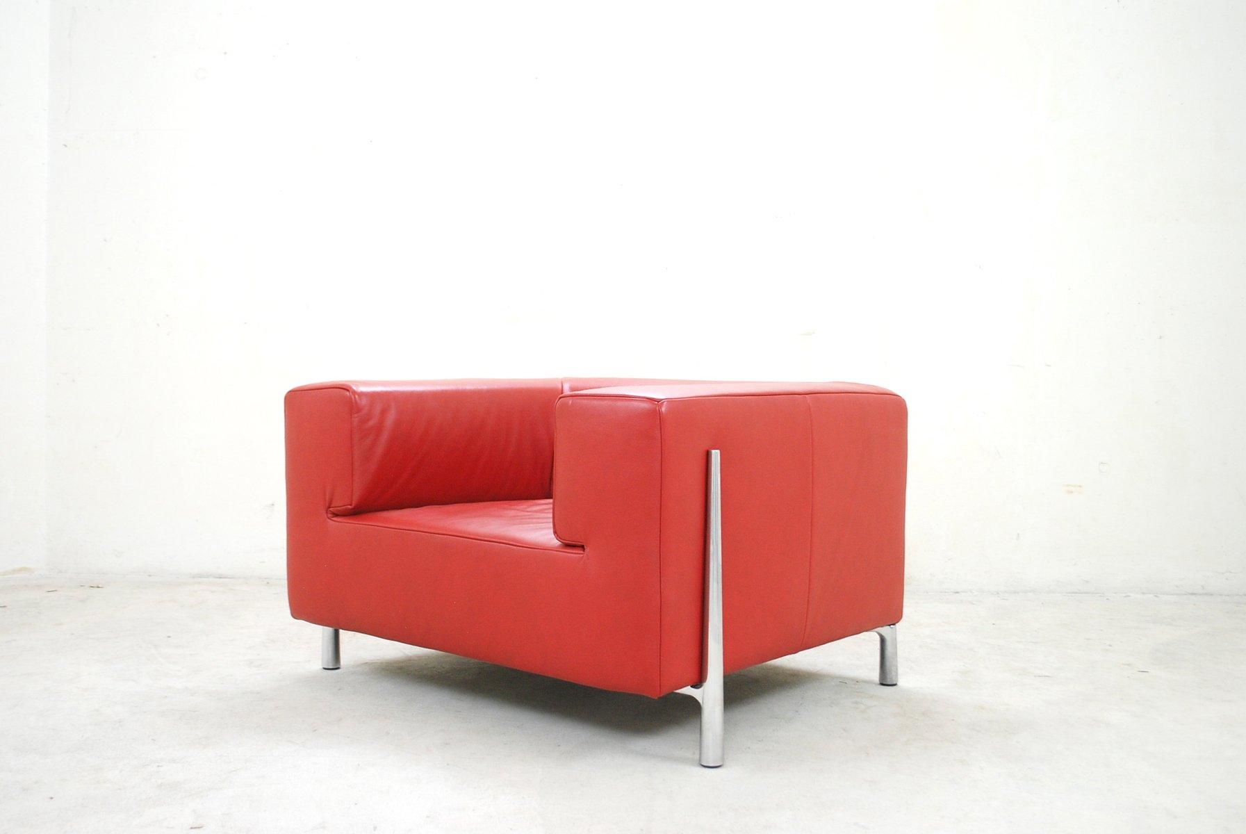 Wunderbar Koinor Lederfarben Foto Von Finest Red Leather Genesis Armchair By Cynthia
